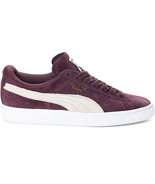 ... PUMA Suede Classic Winetasting Shoes (Womens) 19a364616