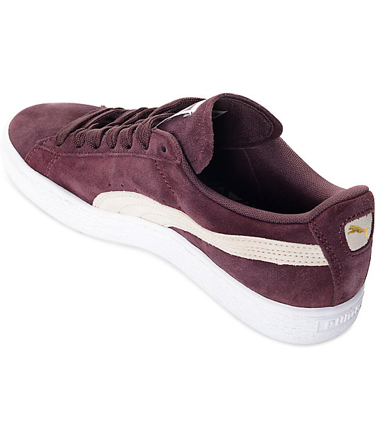 ... PUMA Suede Classic Winetasting Shoes (Womens) ... 7d63aa7f1