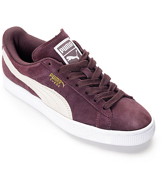 PUMA Suede Classic Winetasting Shoes (Womens)  dbd1345e0