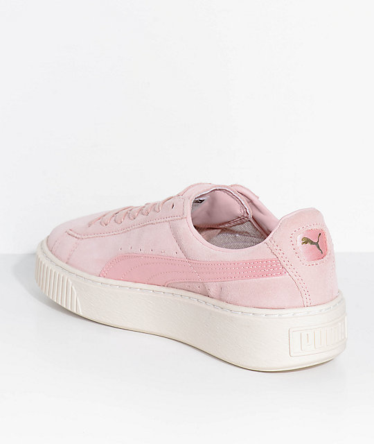 baby pink puma shoes