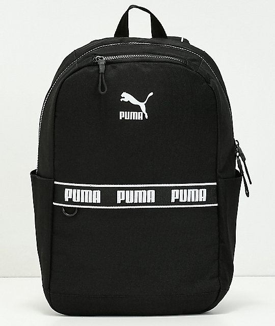 f16c3aca77 PUMA The Linear Black Backpack