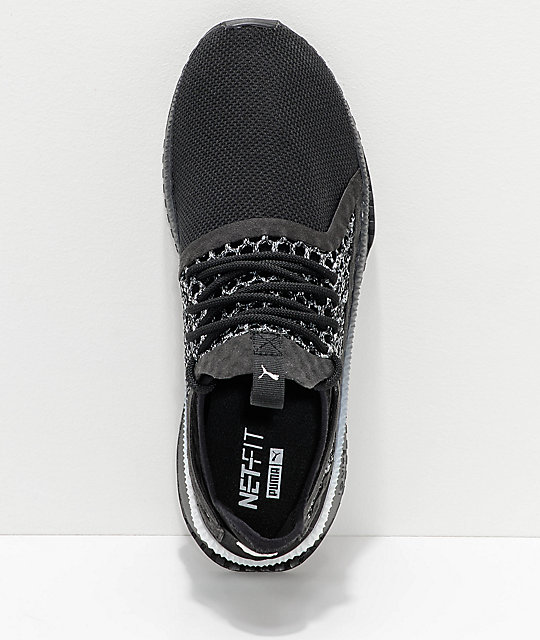 PUMA Tsugi Netfit V2 Black Shoes