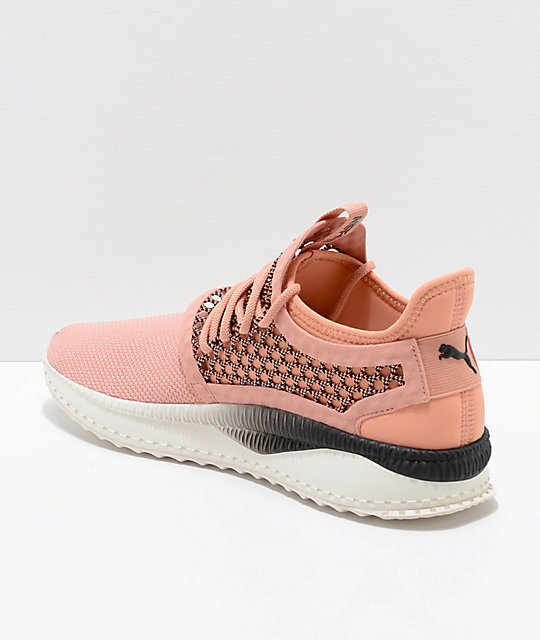 PUMA Tsugi Netfit V2 Muted Clay & Black Shoes