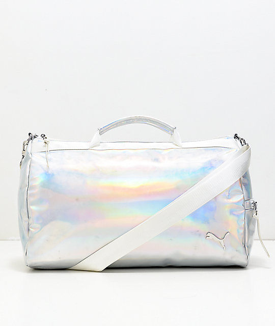 PUMA Uppercut Iridescent & Pastel Duffle Bag