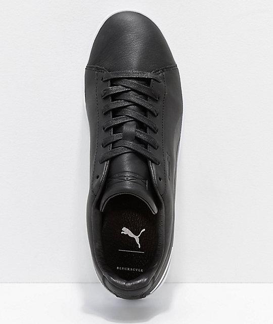 02c2e43d6189bd ... PUMA x Black Scale Court Platform Black   White Shoes ...