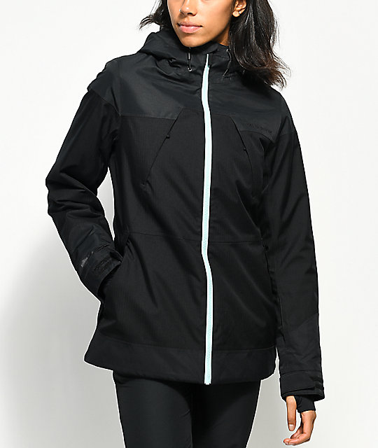PWDR ROOM Heartland Black 10K Snowboard Jacket