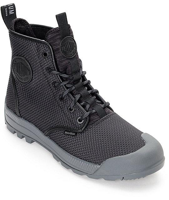 15e5585ac41 Palladium Pampatech HI TX All Black Boots
