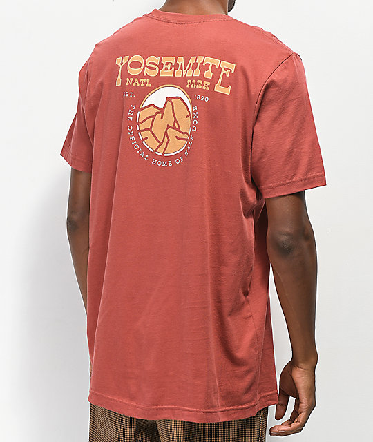 Parks Project Yosemite Rust T-Shirt