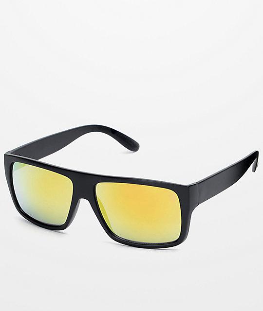 92f9d6b3106 Parole Black   Gold Sunglasses