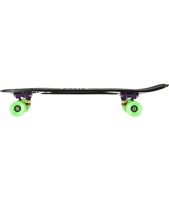 "Penny Nickel Black, Purple & Green 27""  Cruiser Complete Skateboard"