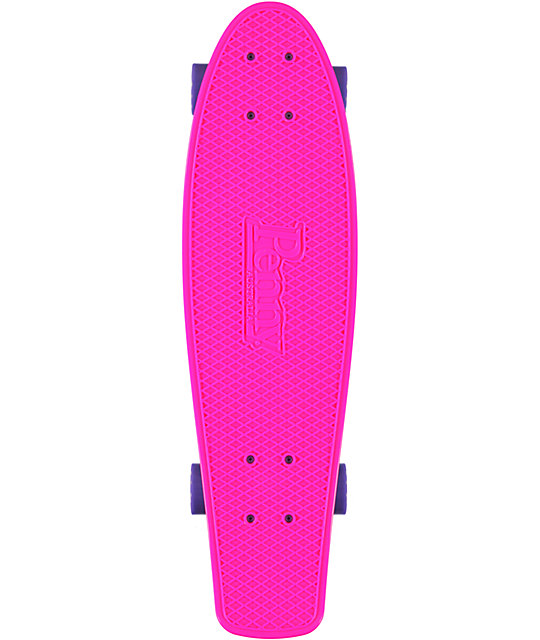 "Penny Nickel Pink, Purple, & White 27""  Cruiser Complete Skateboard"