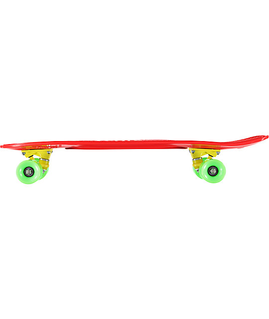"Penny Nickel Red, Green & Yellow 27""  Cruiser Complete Skateboard"