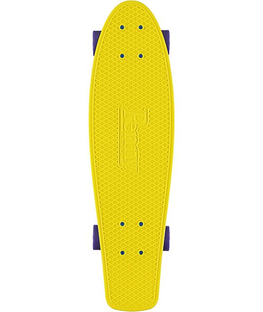 "Penny Nickel Yellow 27""  Cruiser Complete Skateboard"