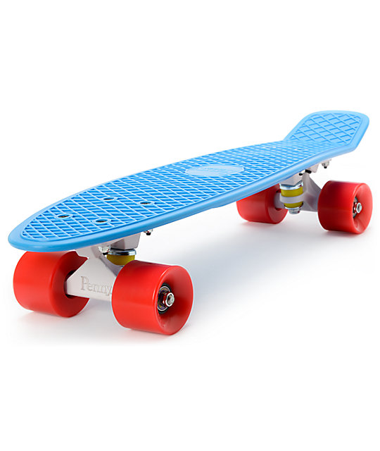 "Penny Original Blue, White, & Red 22.5""  Cruiser Complete Skateboard"