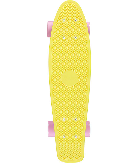 "Penny Original Pastel Lemon Yellow 22""  Cruiser Complete Skateboard"
