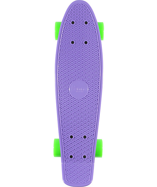 "Penny Original Purple, Yellow, & Green 22.5""  Cruiser Complete Skateboard"