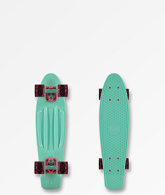 "Penny Pegasus Mint 22"" Cruiser Complete"