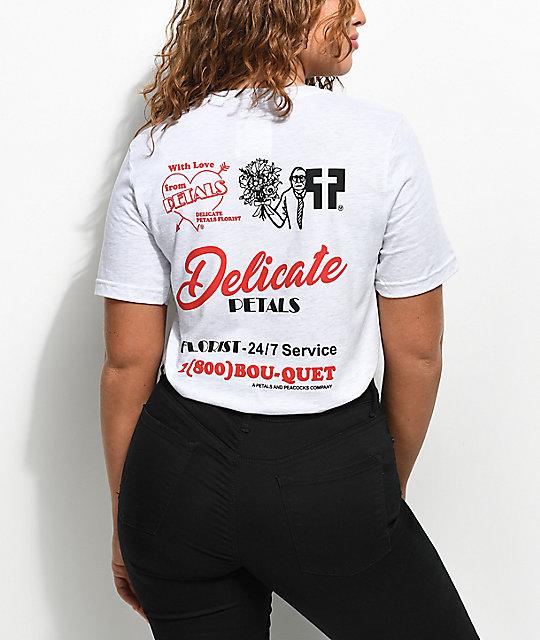 23b191a4d Petals & Peacocks Delicate Ash T-Shirt | Zumiez