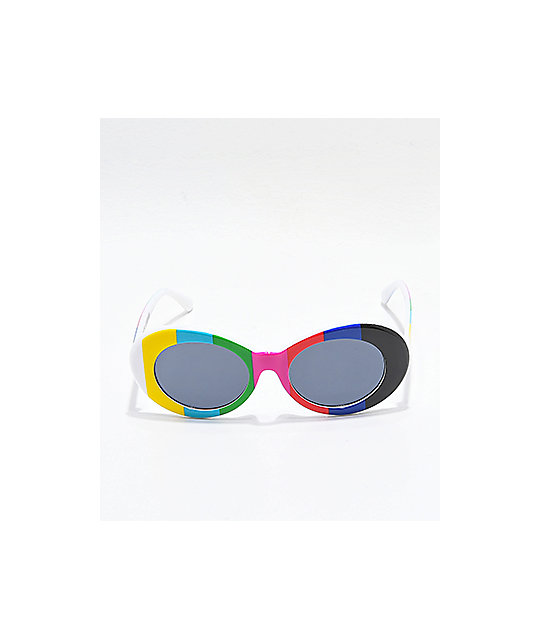 Petals & Peacocks Nevermind TV Sunglasses