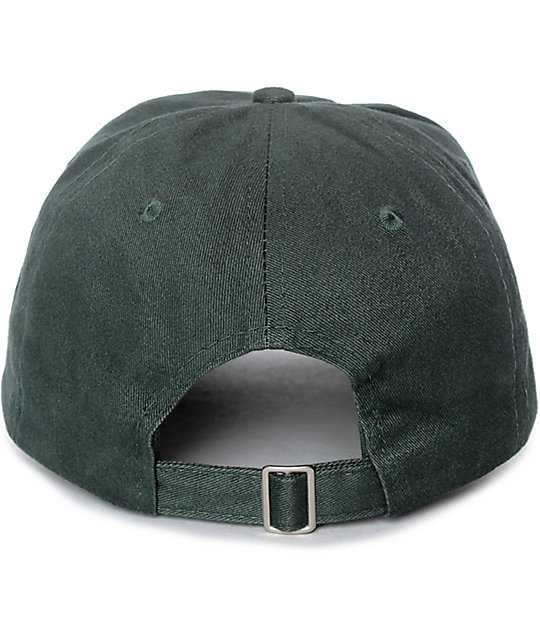 Petals & Peacocks Sweet Little Lies gorra strapback en verde