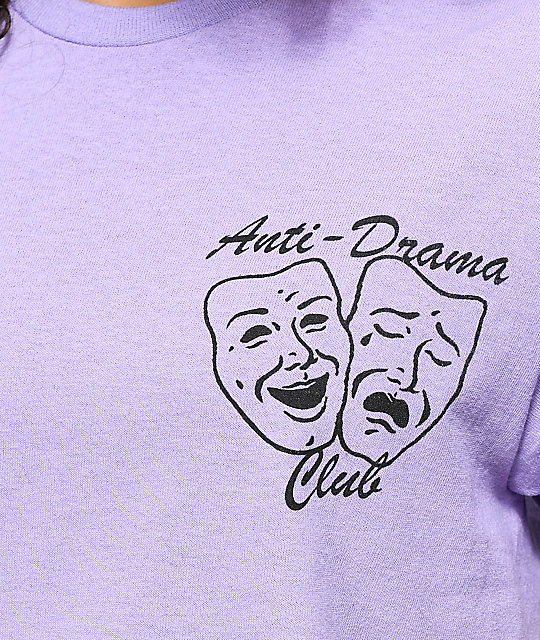 Petals by Petals & Peacocks Anti Drama Club Lavender T-Shirt