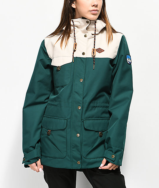 Picture Organic Kate Emerald 10 K Snowboard Jacket by Picture Organic