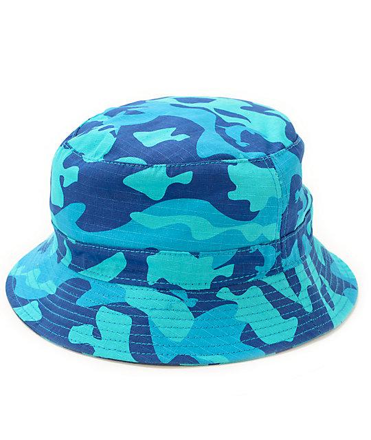7131f2ae539 Pink Dolphin Camo Bucket Hat