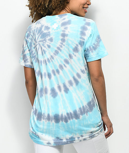 Pink Dolphin More Water Blue Tie Dye T-Shirt