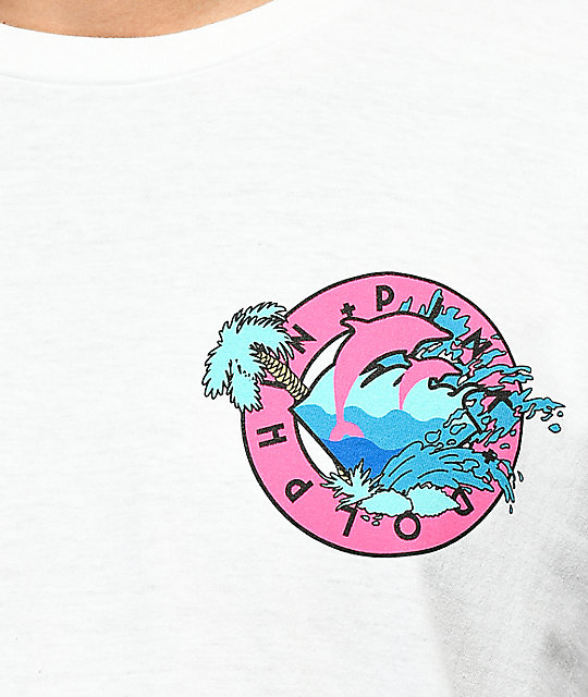 Pink Dolphin Oasis White T-Shirt