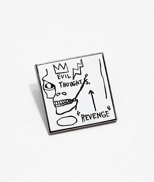 Pintrill Basquiat Evil Thoughts Pin