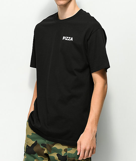 Pizza Grace Black T-Shirt