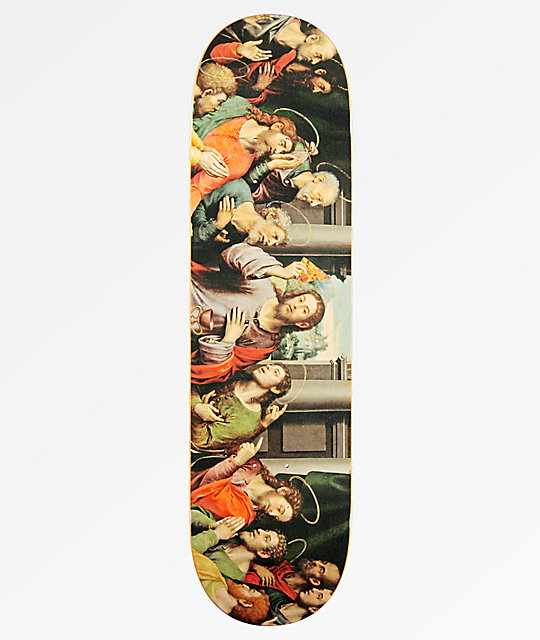 "Pizza Last Supper 8.25"" tabla de skate"