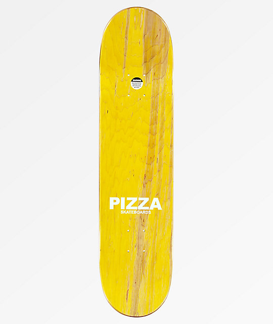 "Pizza Pepperoni 7.75"" Skateboard Deck"