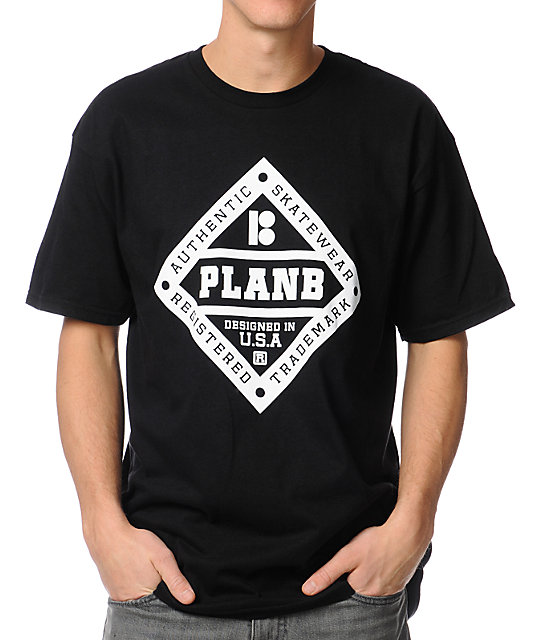 Plan B Bases Black T-Shirt
