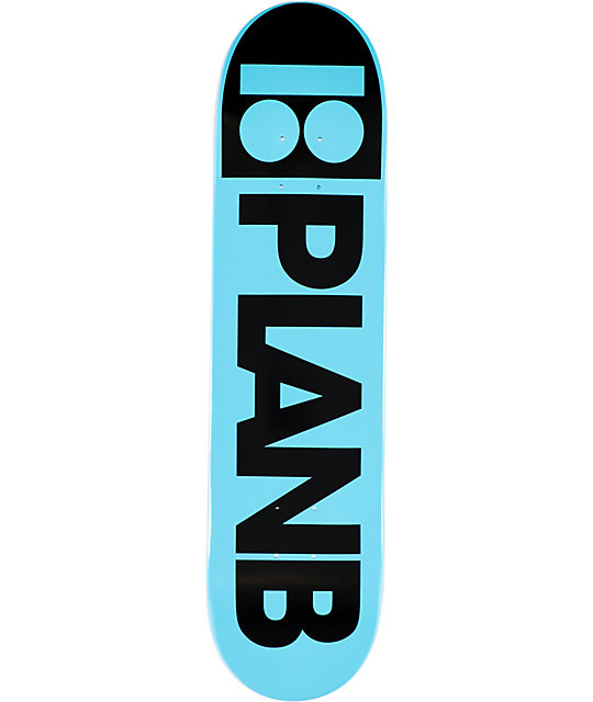 "Plan B Day Glow 7.75""  Skateboard Deck"