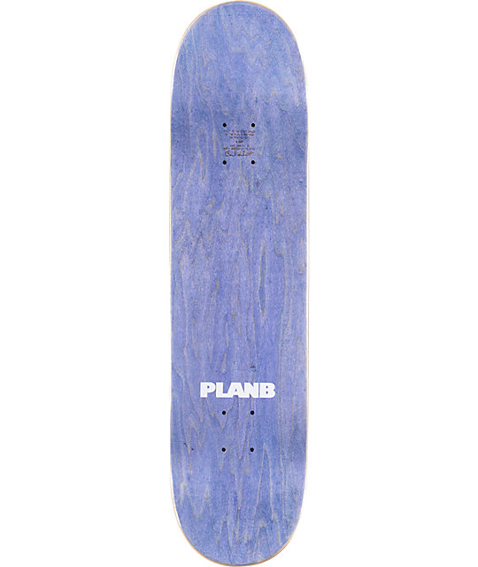 "Plan B Factory P-Rod 8.0""  Skateboard Deck"
