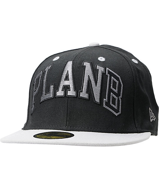 Plan B Game Cap Black New Era Fitted Hat