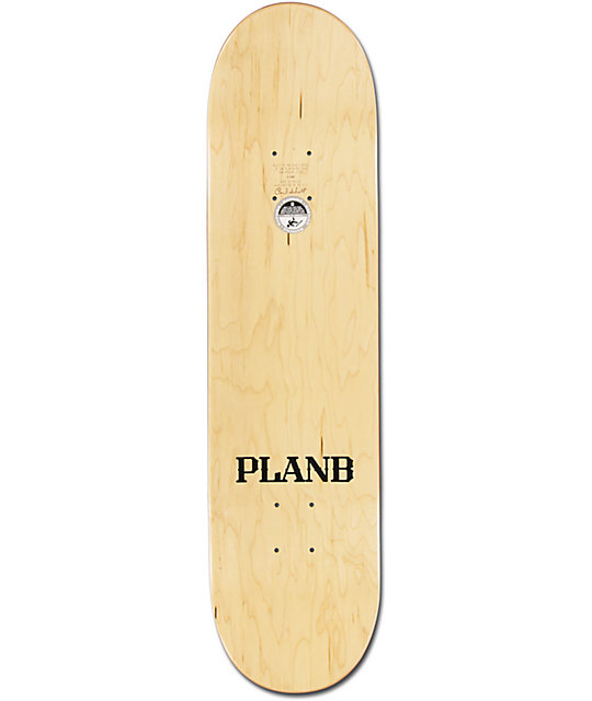 "Plan B Ladd Baseball 8.0""  Skateboard Deck"