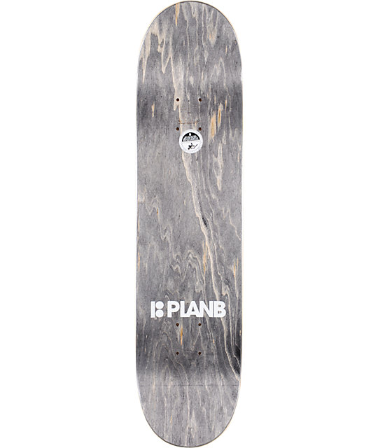 "Plan B Ladd Rush 7.875""  Skateboard Deck"