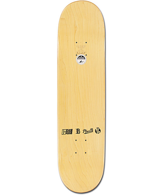"Plan B Ladd Swift 8.0""  Skateboard Deck"