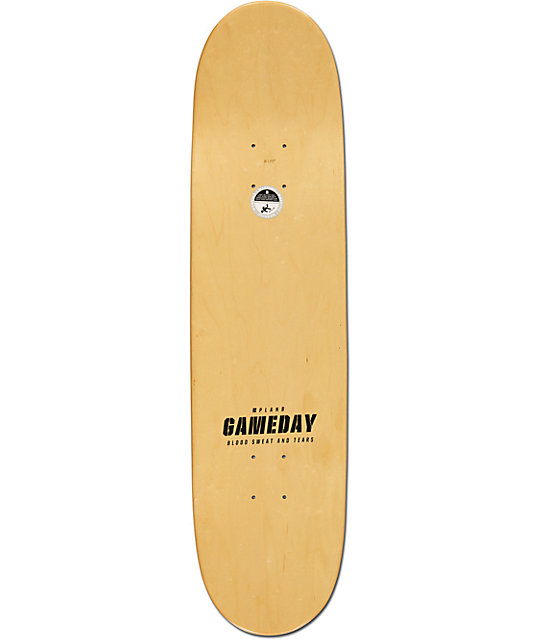 "Plan B P-Rod Game Day 8.125""  Skateboard Deck"