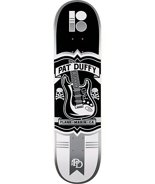 "Plan B Pat Duffy Crest 8.0""  Skateboard Deck"
