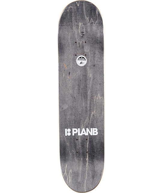 "Plan B Pudwill Rush 7.75""  Skateboard Deck"