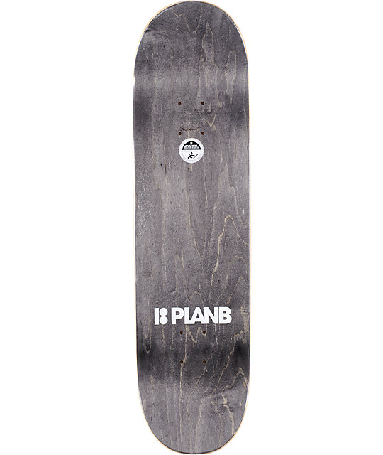 "Plan B Sheckler Rush 8.25""  Skateboard Deck"