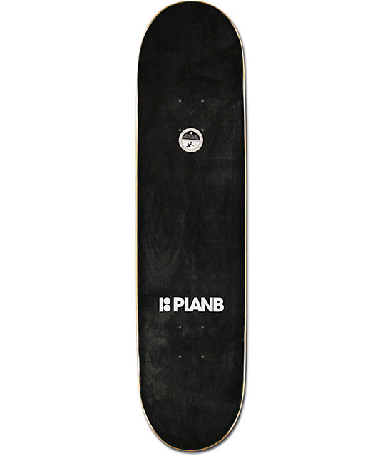 "Plan B Sheckler Scarf 8.0""  Skateboard Deck"