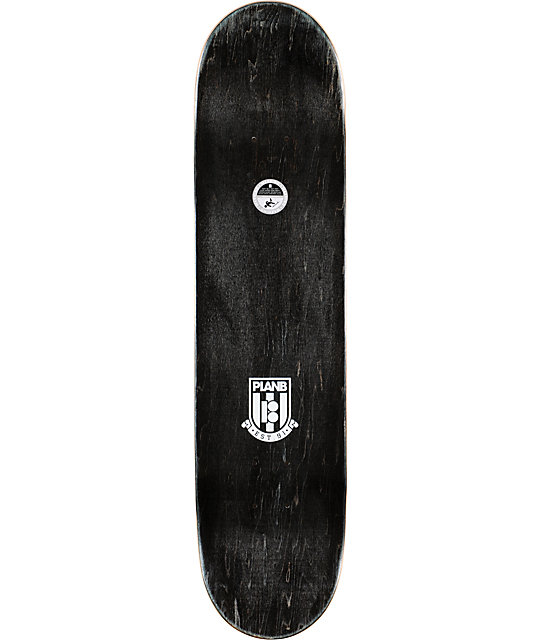 "Plan B Team Union 7.75""  Blue Skateboard Deck"