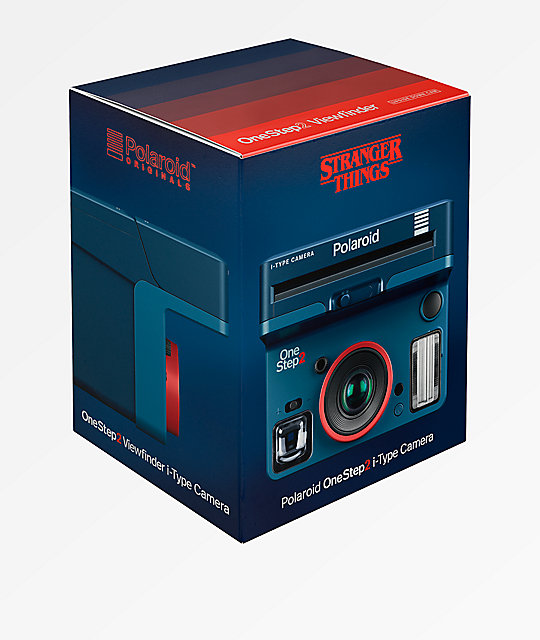 Polaroid Originals x Stranger Things OneStep 2 Viewfinder Blue Instant Camera