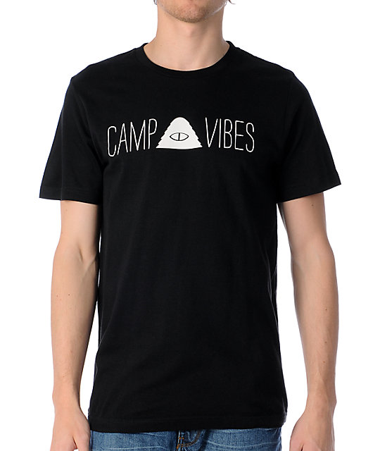 Poler Camp Vibes Black T-Shirt