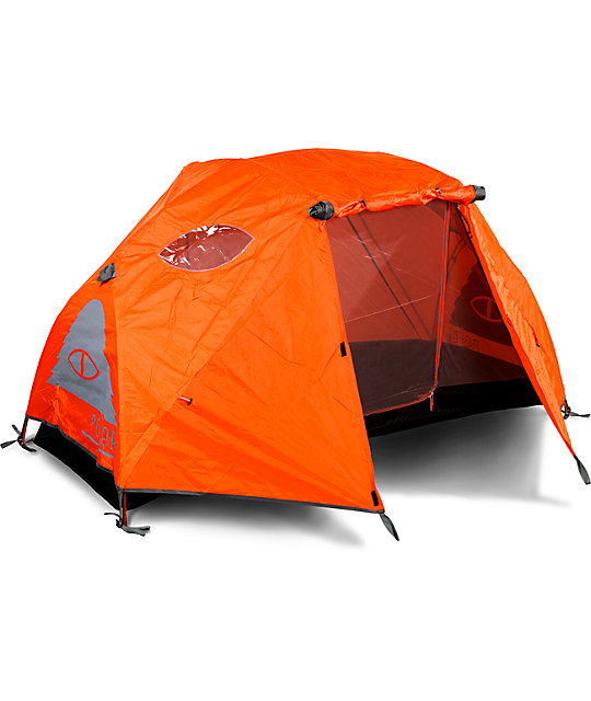 Poler One Man Orange u0026 Grey Tent ...  sc 1 st  Zumiez & Poler One Man Orange u0026 Grey Tent | Zumiez