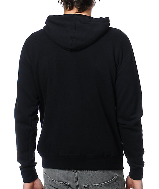 Poler Psychedelic Black Pullover Hoodie